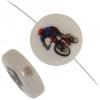 Bead Discs 19mm Cyclist Multi. Color
